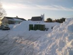 March 25, Mailboxes dwarfed by snowbanks
