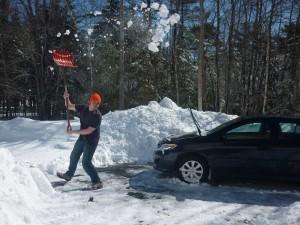 shovelling